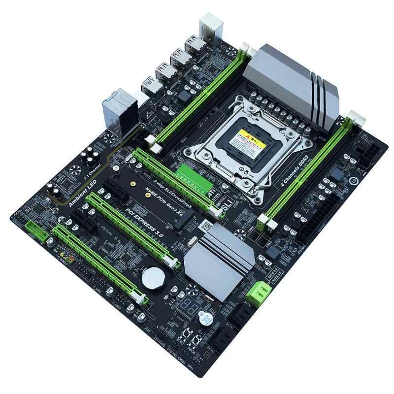 X79T DDR3 PC Desktops Motherboard LGA 2011 CPU Computer 2 Channel Gaming Support M.2 E5-2680V2 i7 SATA 3.0 USB 3.0 for Intel B75