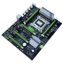 X79T DDR3 настольных ПК материнская плата LGA 2011 Процессор компьютера 4 канала игровые Поддержка M.2 E5-2680V2 i7 SATA 3,0 USB 3,0 для Intel B75