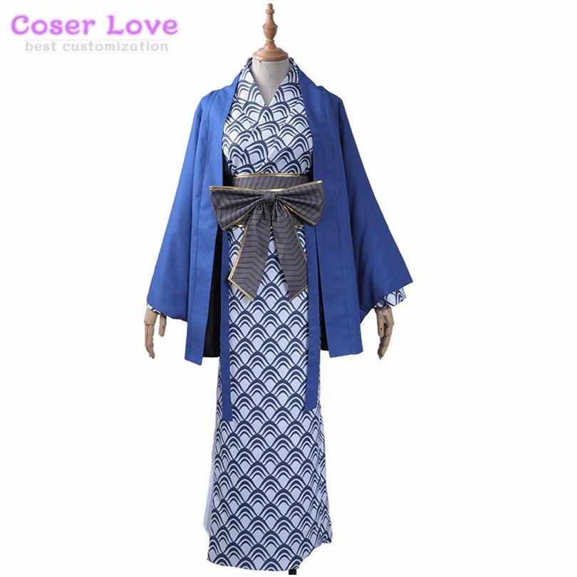 Fate EXTRA Fate Grand Order Tamamo no Mae 3rd Kimono bathrobe Cosplay Costume for Halloween Christmas