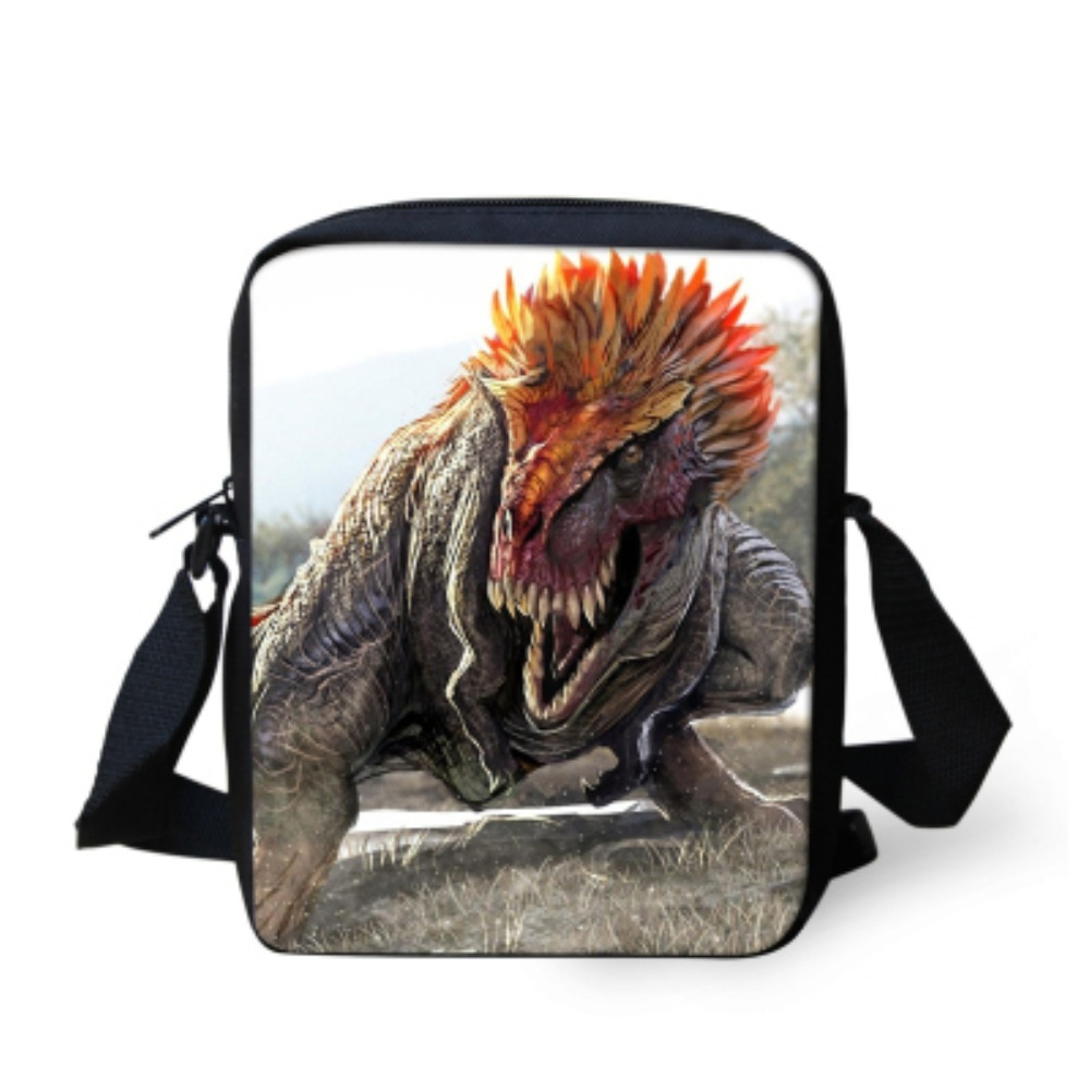 Aliexpress.com : Buy Cool Dinosaur Print Boys Messenger Bag Kids ...