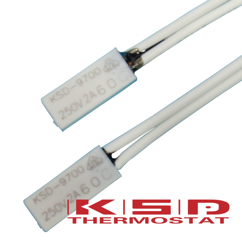 100PCS KSD9700 250V 2A 40 150 Celsius 15 5 4 2 4mm Bimetal Disc Temperature Switch Thermostat Thermal Protector 40 150degree in Switches from Lights Lighting