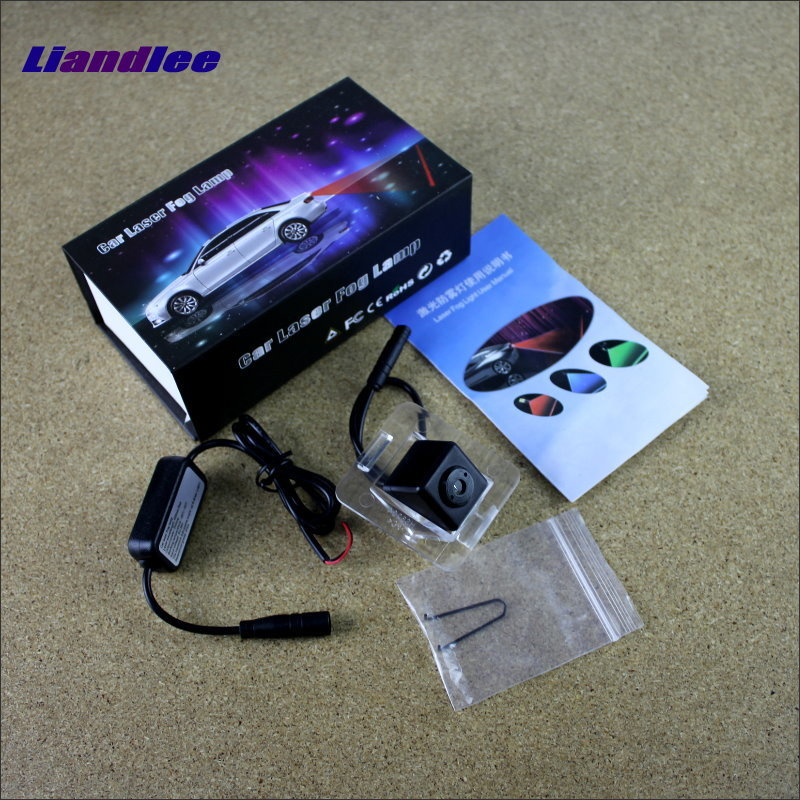 Liandlee Laser Anti Lamp Fog Light For Mercedes Benz GLK Class X204 Outside Car Warning Alert Light To Shoot The Chandeliers