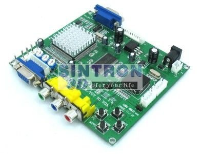 GBS-8200 CGA/EGA/YUV PARA VGA conversor de vídeo máquina de jogo de arcade