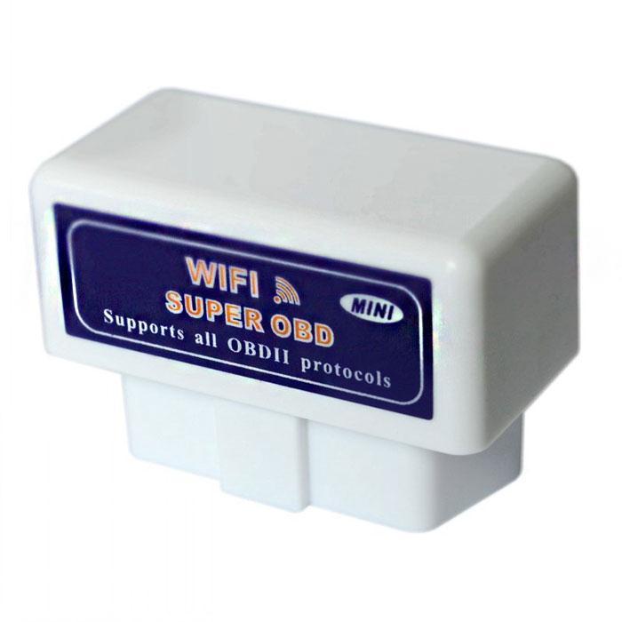 Prix pour Super Mini Wifi Bluetooth Auto Outil De Diagnostic De Voiture Outil De Diagnostic ELM327 OBD II De Voiture OBD2 Code Scanner Soutien Android IOS