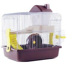 AHUAPET Haus Für Hamster Igel Haus Guinea Pig Bett Käfig Für Hamster Kleine Tier Produkte Käfig Chinchilla Zubehör H
