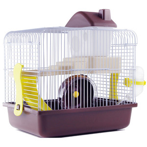 Image 1 - AHUAPET House For Hamster Hedgehog House Guinea Pig Bed Cage For Hamster Small Animal Products Cage Chinchilla  Accessories H