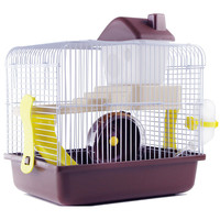AHUAPET House For Hamster Hedgehog House Guinea Pig Bed Cage For Hamster Small Animal Products Cage Chinchilla Accessories H