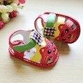 Лучшее Качество Лето Детская Обувь 11 СМ 12 СМ 13 СМ Тигр Животное Рисунок Дети Ребенка Малыша Обувь На Резиновой Подошве новорожденные Обувь 8107