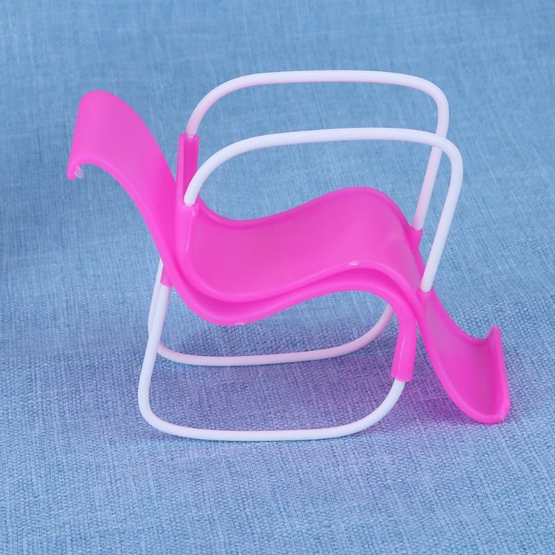 2 stücke Puppe Zubehör Schaukel Strand Sessel für Barbie Puppe Rosa ...