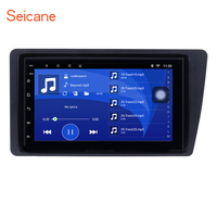 Seicane 7 дюймов Android 6,0 2 DIN головное устройство радио автомобиль gps навигации мультимедийный плеер для Honda Civic 2001 2002 2003 2004 2005