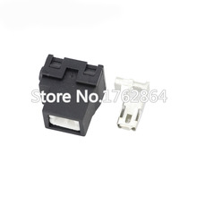 10PCS 1 pin Connector Ceramic H1-2B car lamp holder elbow / H1 ceramic DJ701-6.3-2B