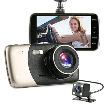 "4.0"" IPS DVR Dash Cam  Viceo Recorder Full HD 1080P Vehicle Traveling Date Recorder 150 Degree lens Night Vision Tachograph"