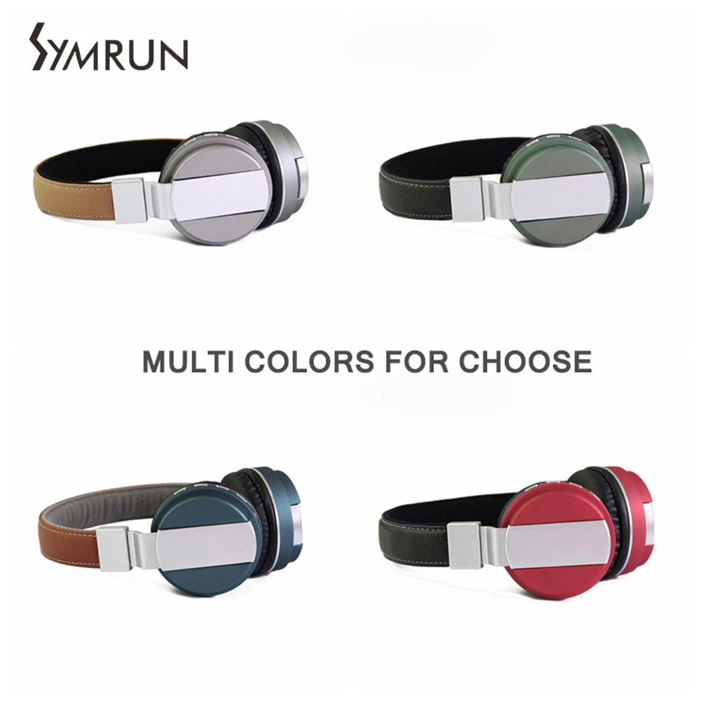 Symrun Wireless Headset Bluetooth Earphones For Iphone 7 Samsung Xiaomi Bluetooth Headset  Call Center Headset wireless service call bell system popular in restaurant ce passed 433 92mhz full equipment watch pager 1 watch 7 call button