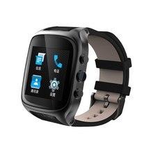 Smart Watch X01S 1,54 zoll 3G Smartwatch Telefon MTK6572 1,3 GHz Dual Core 1 GB RAM 8 GB ROM Wasserdichte GPS Schwerkraft-sensor schrittzähler