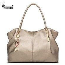 FUNMARDI 2020 lüks bayan çanta PU deri kadın çanta marka tasarımcı bluzu kolu çanta bayanlar omuzdan askili çanta kadın çantası WLHB1778