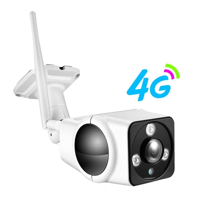 YSA Hi3516C hd 1080 P Mini Surveillance 3G 4G Carte SIM IP Caméra PTZ PTP Extérieure Bullet Caméra Sans Fil AP Hotspot Motion