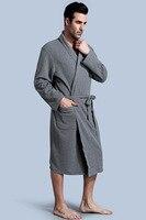 Plus Size Robes Male Cotton Terry Bathrobe Toweled Pajamas Kimono Men S Bathrobe Onesie Sleepwear Long