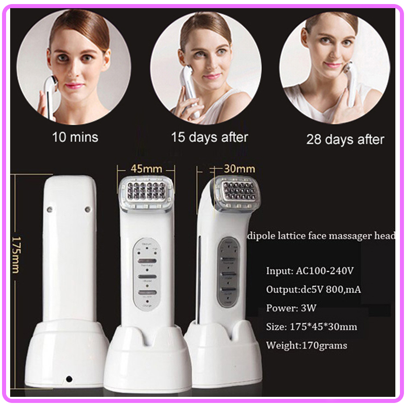 цены  Free Shipping Mini rf Thermage Radio Frequency Dot Matrix Rejuvenation Infrared Facial Skin Tightener Free Shipping