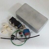 PB N1160 1590B DIY Guitar Pedals Aluminum Pedals Box Foot Pedal Switch LED Lights Interface Guitar