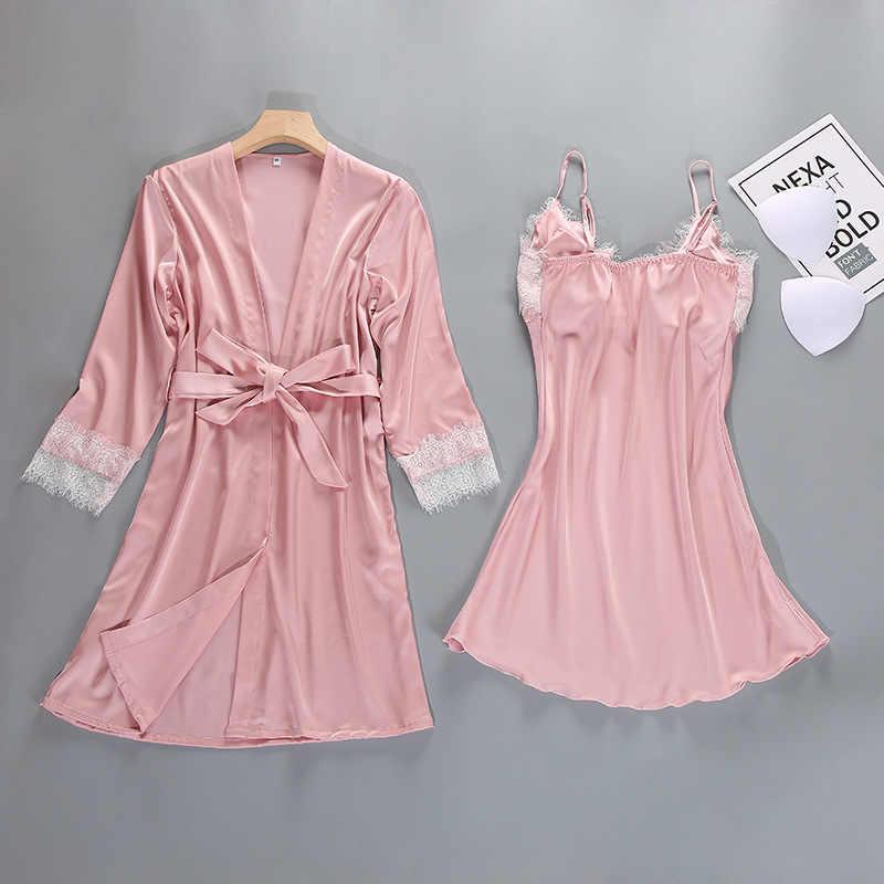 Повседневная женская обувь летние Ночной халат-Пижама комплекты сексуальный женский браслет топ пижамы костюм домашней ночная рубашка халат для сна Ванна платье
