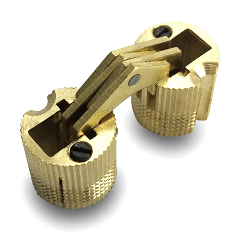 1pcs Copper Barrel Hinges Cylindrical Hidden Cabinet Concealed Invisible Brass Door Hinges For Furniture Hardware 8-16 mm1pcs Copper Barrel Hinges Cylindrical Hidden Cabinet Concealed Invisible Brass Door Hinges For Furniture Hardware 8-16 mm