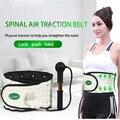 Lombar Apoio Médico cintura Massager Spinal Ar Cinto de Tração Dispositivo de Alívio Da Dor Da Coluna Quiropraxia Massagem Nas Costas Relaxar Companheiro