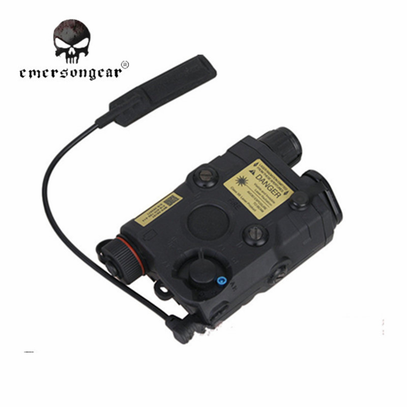 ФОТО Emerson Military Army PEQ-15 Red Laser Battery Case Military Airsoft Shooting Hunting Laser Sight Nylon Combat Gear EM9276
