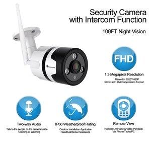 Image 3 - HD 1080P kamera Wifi IP bezprzewodowy panoramiczny aparat Monitor Wireless360 stopni Wifi telefon domowy zdalny szerokokątny Telecom
