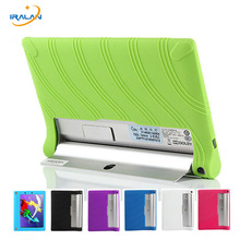 Ultra Slim Luxury Soft Cover Cover for Tablet Lenovo Yoga Tab 2 1050 1050F 1050L 1051F 1051 10.1 Silica Gel Protective Case+Pen