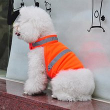 Pets Fluorescent Security Dog Clothes