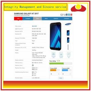 Image 3 - 10 pçs/lote Para Samsung Galaxy A7 2017 A720 A720F Montagem Do Monitor Do Painel de Display LCD Com Tela de Toque Digitador Completo