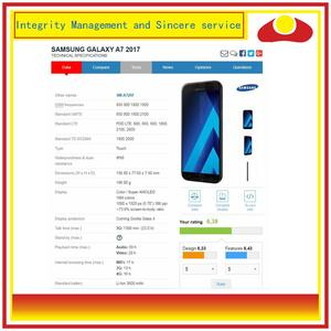 Image 3 - الأصلي لسامسونج غالاكسي A7 2017 A720 A720F SM A720F شاشة LCD مع شاشة تعمل باللمس محول الأرقام لوحة رصد الجمعية كاملة