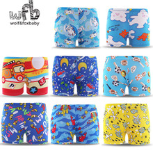 3 6years free size Diving wear Cartoon printed toddler Kid Child Boys swimming trunks swimsuit beach