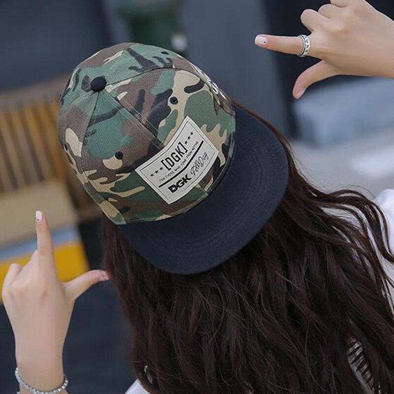 Rock Style Hot Camouflage Hip Hop Street Skateboard Baseball Cap Leisure Adjustable Hat Snapback Cap For Men Women Couple Gifts