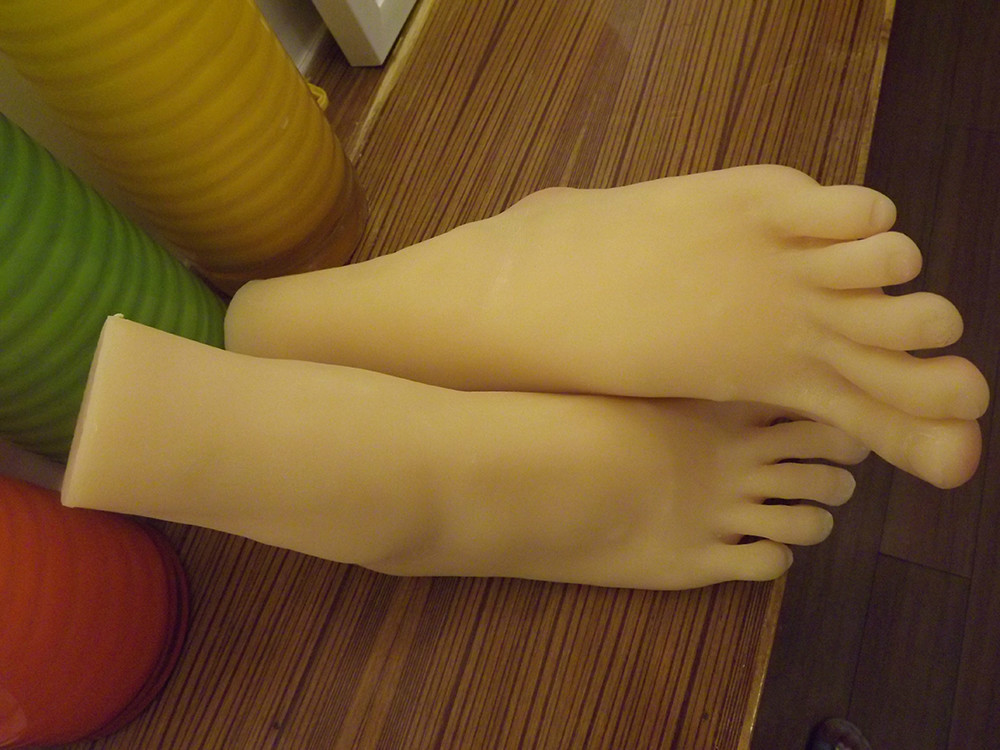 New 3D girls high heel ballerina foot feet fetish sculpture model footjobs toys tanned skin