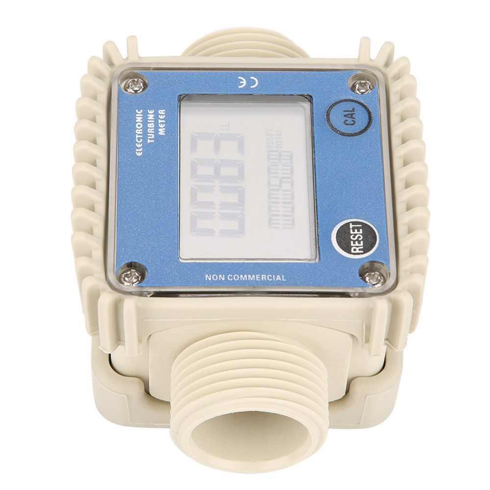 Digital LCD Meter Air Bahan Bakar Diesel Tester K24 Meter untuk Kimia Air Laut Ultrasonic Alat Aksesori