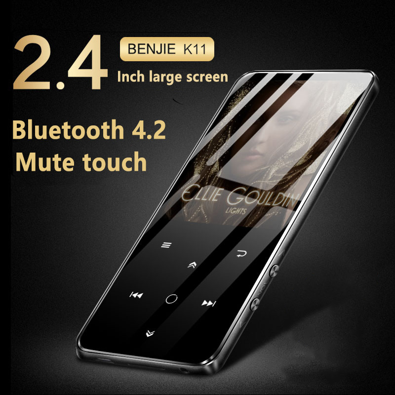 מקורי HIFI Mp4 נגן 8 gb 2.4 inch מגע מסך Lossless מיני נייד Bluetooth נגני וידאו FM רדיו ספר אלקטרוני קול מקליט