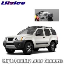 Kamera samochodowa Liislee do nissana Xterra 2005 ~ 2016 kamera cofania ultra hd samochodowa kamera cofania imag dla przyjaciół użyj   CCD + RCA tanie tanio Drutu Plastikowe + Szkło Systemy alarmowe ACCESSORIES Z tworzywa sztucznego For Xterra