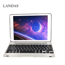For iPad Pro 9.7 Keyboard Case With Keyboard For iPad Bluetooth Tablet Cover Stand For iPad Air 2 Case A1673 A1675 Tablet цена в Москве и Питере