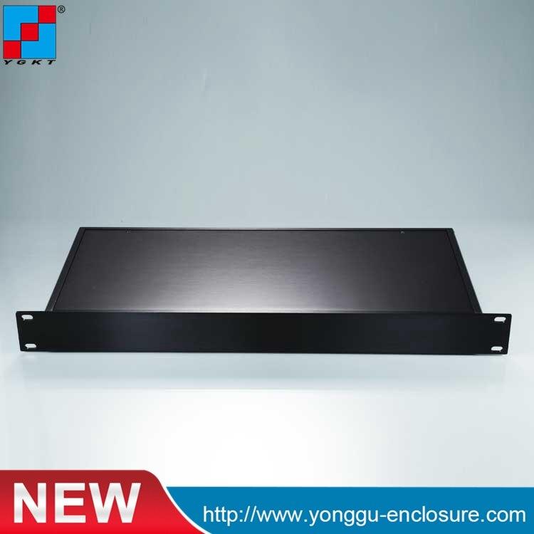 1U 482*45-200mm (Ancho X Alto X Largo) 19 Pulgadas Rack Enclosure Clase A Caja De Amplificador De Aluminio