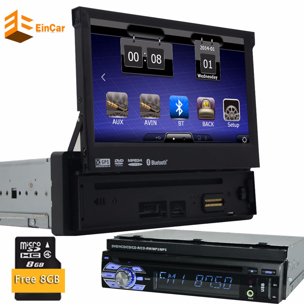 1din car radio gps navigator 7 1din car dvd player gps. Black Bedroom Furniture Sets. Home Design Ideas