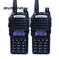 2 unids Walkie Talkie Baofeng uv-82 Radio Portátil de Doble Banda 136-174 MHz/400-520 MHz UHF Radio VHF Radio de Dos Vías UV-82 Para La Caza