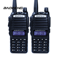 2pcs Walkie Talkie Baofeng uv-82 Portable Radio Dual Band 136-174MHz/400-520MHz UHF VHF Two Way Radio UV-82 For Hunting Radio