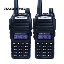 2 шт. Портативной Рации Baofeng уф-82 Рация Dual Band 136-174 МГц/400-520 МГц UHF УКВ Двухстороннее Радио УФ-82 Для Охоты Радио