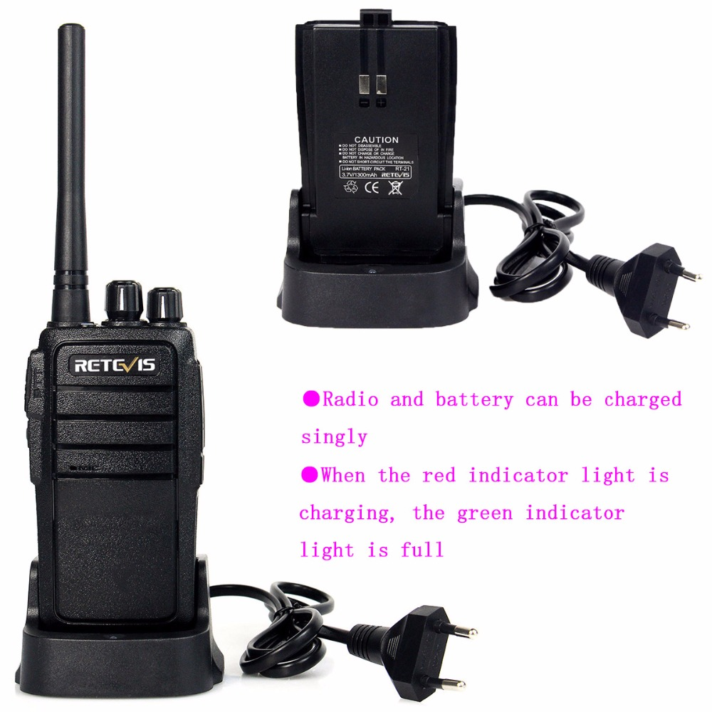 4kom Walkie Talkie Retevis RT21 Squelch 2.5W UHF 400-480MHz 16CH - Voki-toki - Foto 5