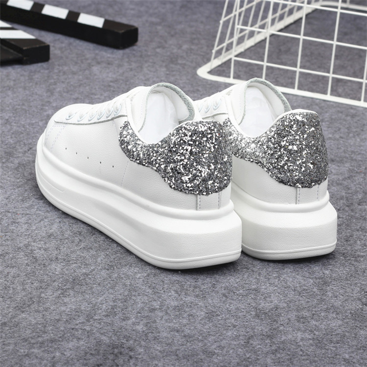 New Fashion Vulcanize Shoes Trainers Women Sneakers Casual Shoes Basket Femme PU Leather Tenis Feminino Zapatos Mujer Plataforma 69