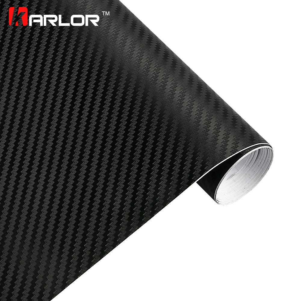 Car Styling 30*100cm DIY Waterproof Car Stickers 3D Car Carbon Fiber Vinyl Automobiles Motorcycle Decal Film Air Bubble free car styling matte chrome brushed metallic vinyl film car stickers and decals automobiles car body wrapping foil air bubble free