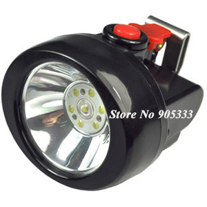Free Shipping 1W Led Headlamp For Miner Hunting and Fishing