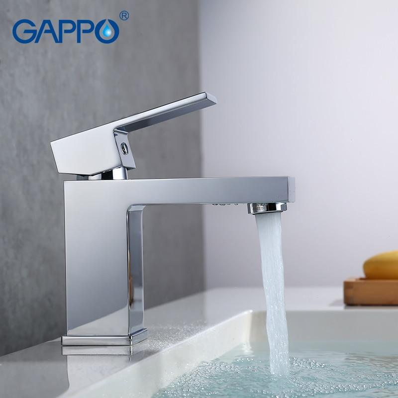 GAPPO Bacia torneira da pia bacia torneira torneira do banheiro de bronze misturador de água da torneira bacia deck montado água da torneira