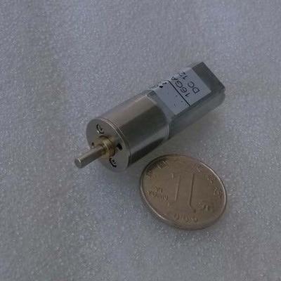 new 12V 60r / min Metal Gear DC / DC micro motors 16GA 60r